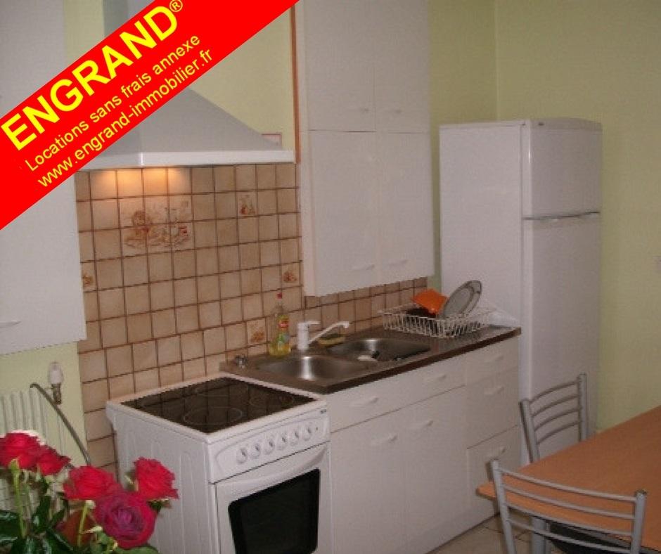 Chambre meublée étudiant ARRAS. Direct propriétaire, ENGRAND, www.engrand-immobilier.fr