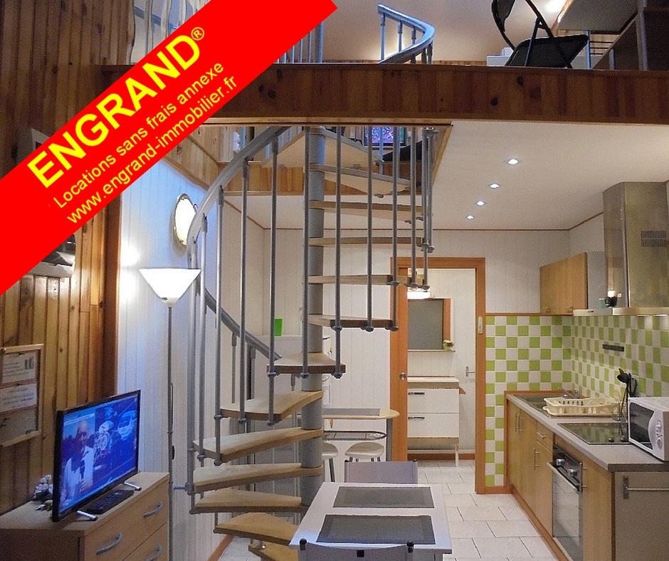 Duplex meublé ARRAS, Toutes charges comprises. Marque ENGRAND. www.engrand-immobilier.fr