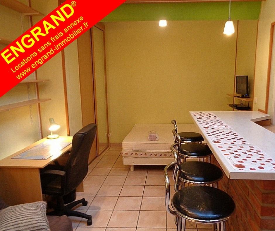 Studio meublé ENGRAND 62000 Arras, www.engrand-immobilier.fr