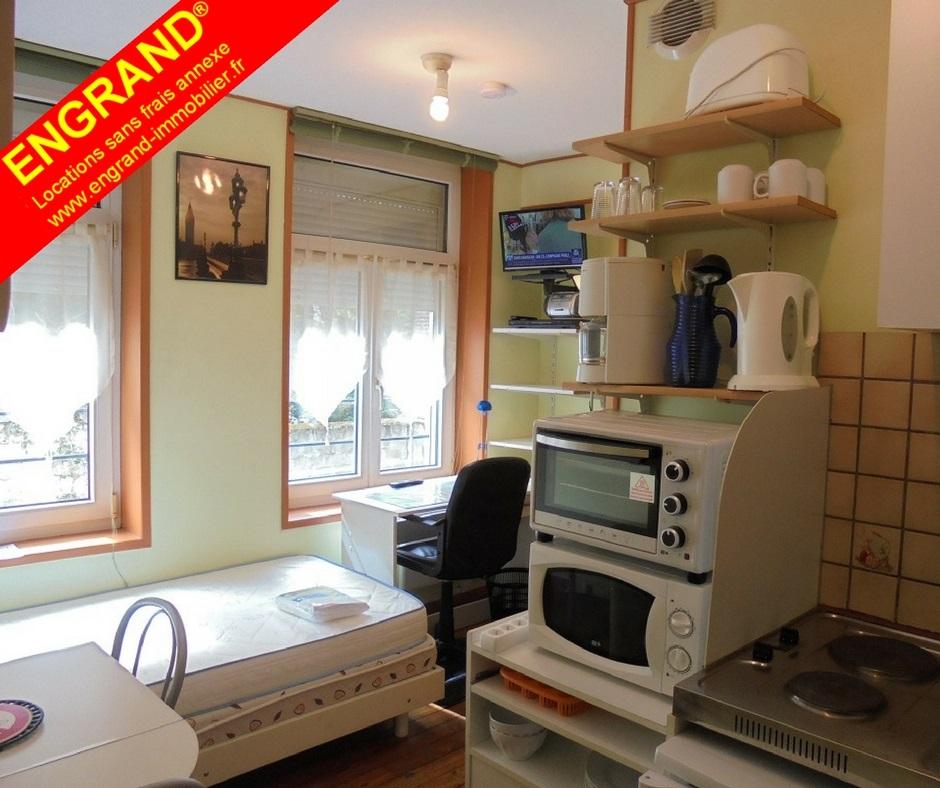 Studio meublé pour étudiant sur Arras 62000. Marque déposée ENGRAND. www.engrand-immobilier.fr