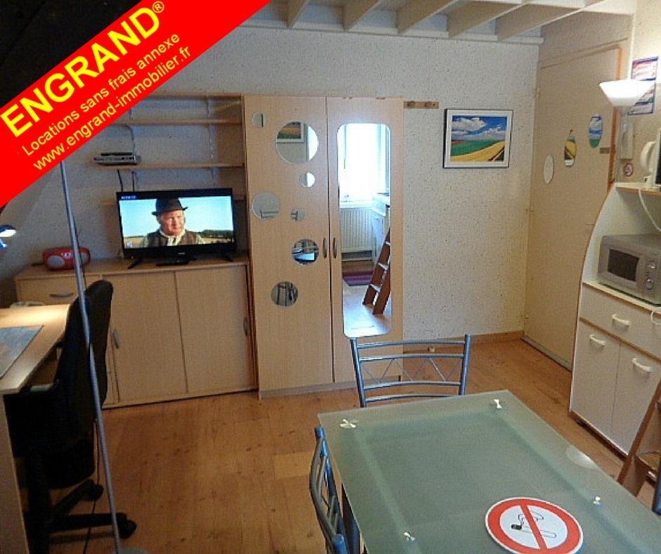 Duplex meublé Arras. Toutes charges comprises. Marque ENGRAND. www.engrand-immobilier.fr