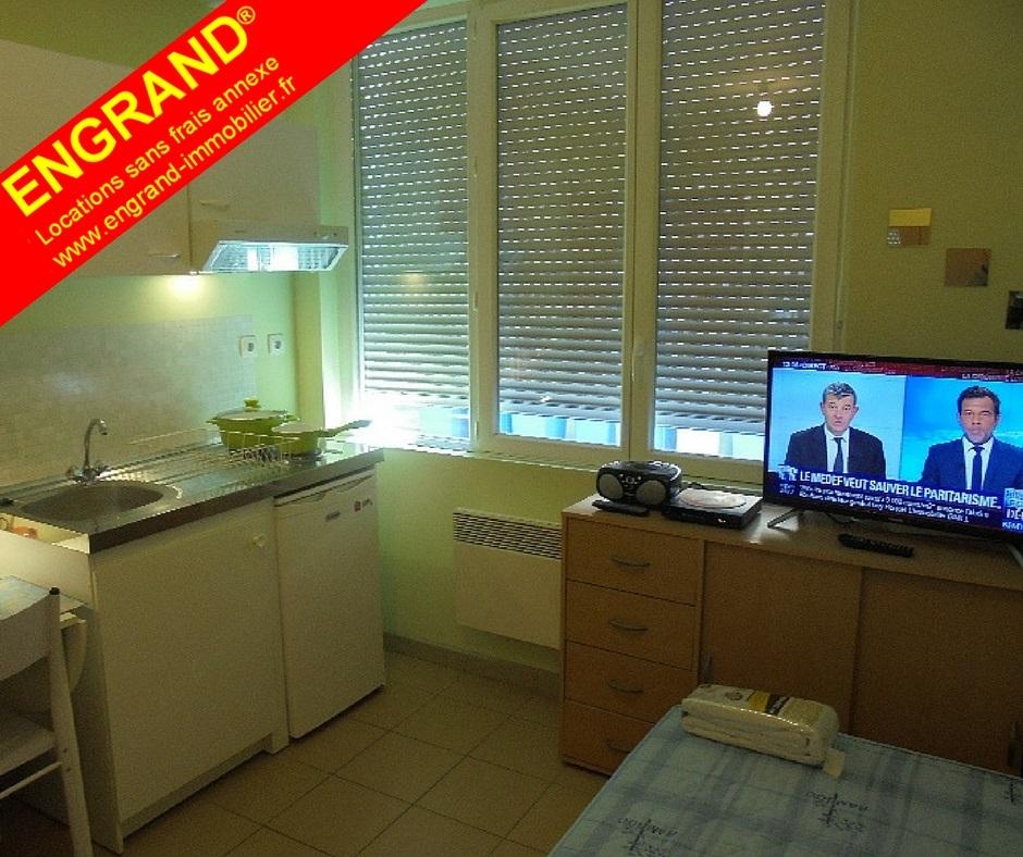 Studio meublé ENGRAND, gare SCNF et Université d'Arras, 62000, www.engrand-immobilier.fr