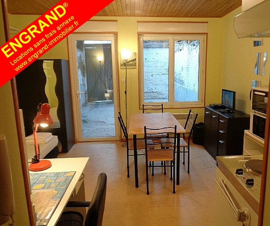 Studios meublés ENGRAND avec parking privé. 62000 ARRAS. www.engrand-immobilier.fr
