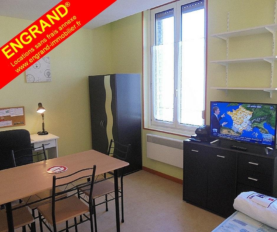 Studio meublé Arras 62000, direct propiétaire, www.engrand-immobilier.fr