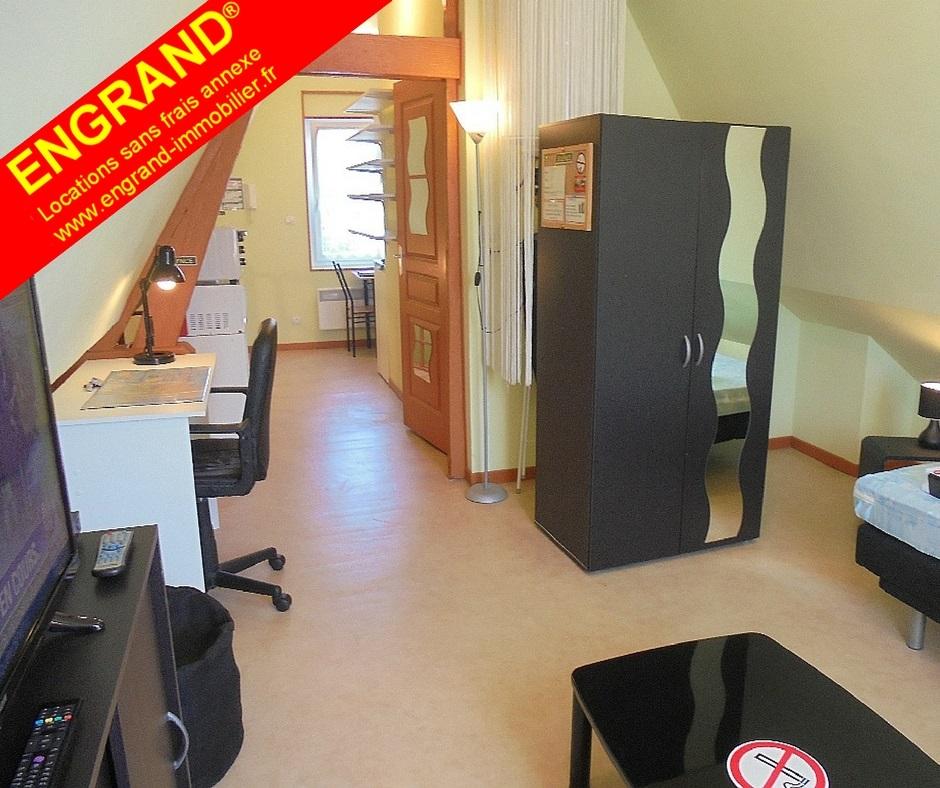 Studios meublés et équipés ENGRAND, sans frais annexe, www.engrand-immobilier.fr
