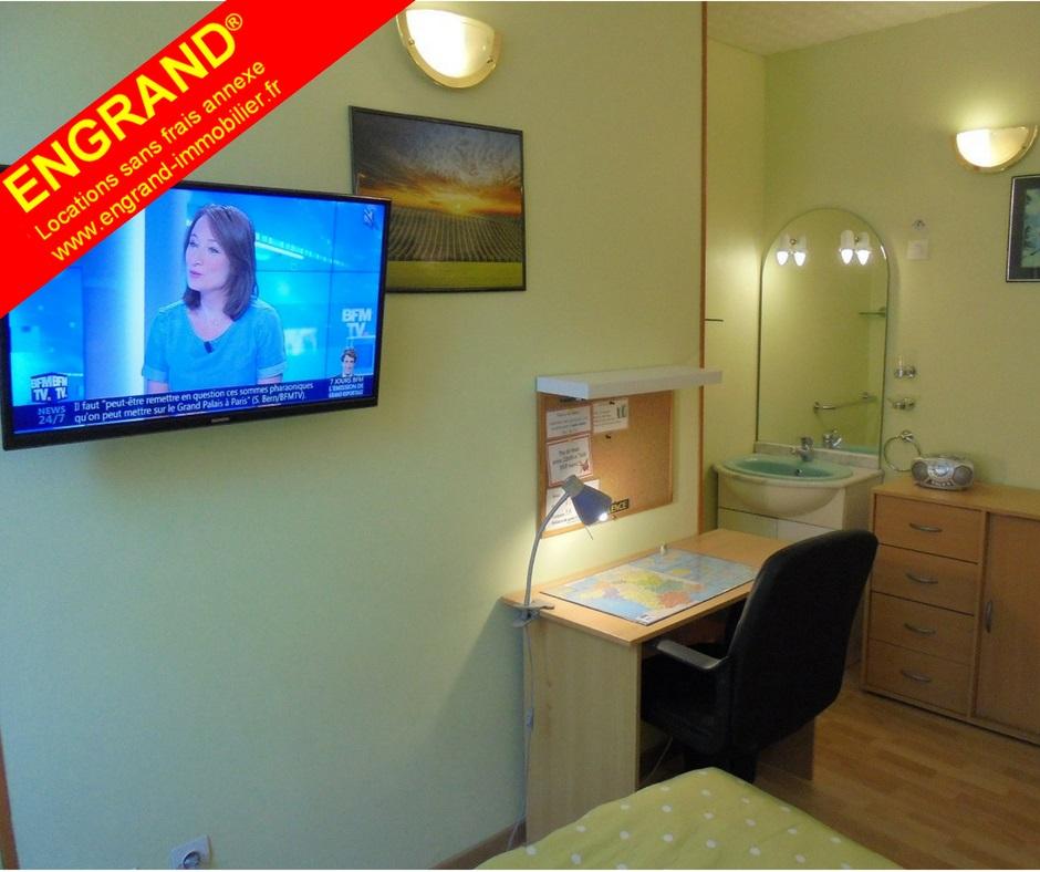 chambre meublée pour étudiant sur Arras, www.engrand-immobilier.fr