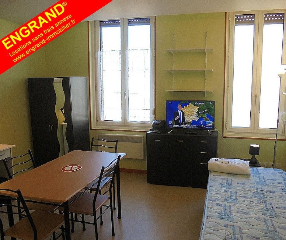 studio meublé avec parking Arras