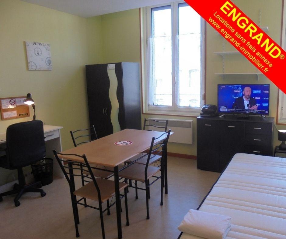 Studio meublé Arras parking